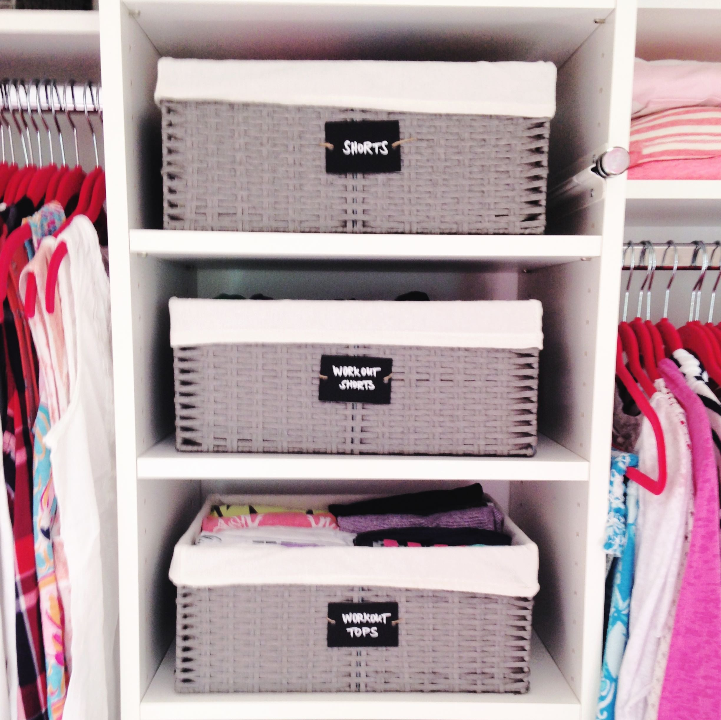 baskets, organizing, neat method, professional organizers, home organizing
