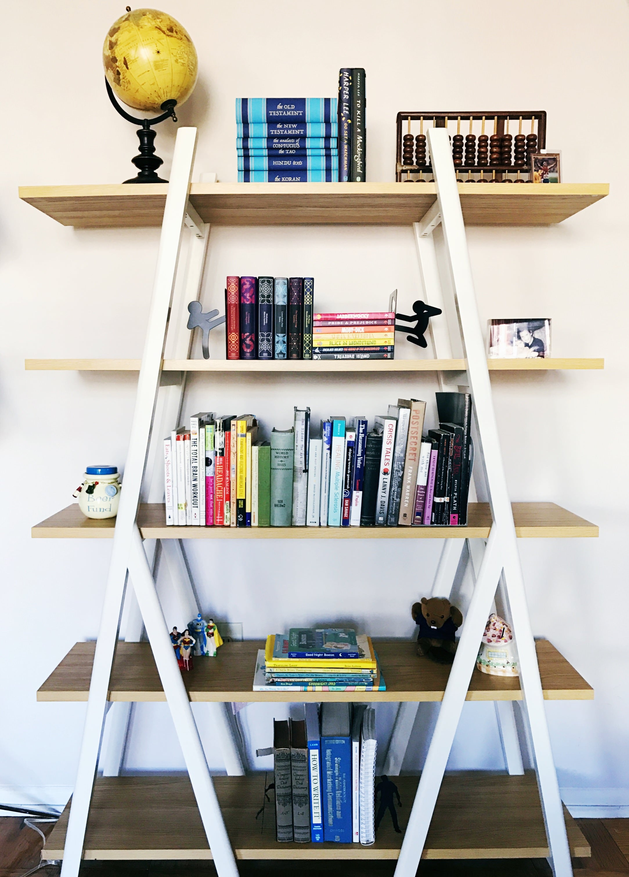 bookcase design, san francisco home organizing, organized bookshelf, organized spaces