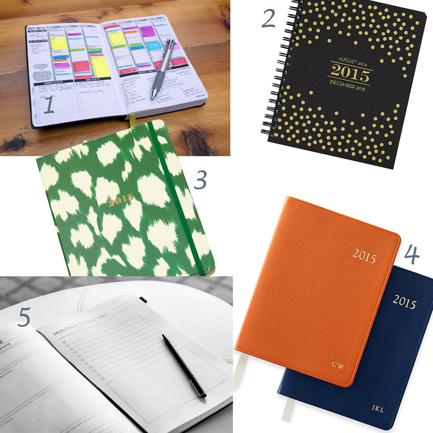passion planner, weekly planner, papersource planner, kate spade calendar, kate spade planner,  mark and graham calendar, popforms, spark notebooks, 2015 planners, best 2015 planners