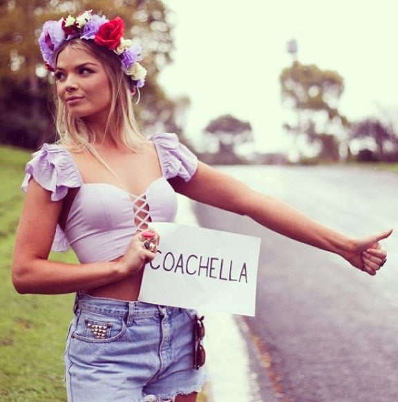 coachella, coachella style 2014, coachella fashion 2014, coachella fashion, flower crown