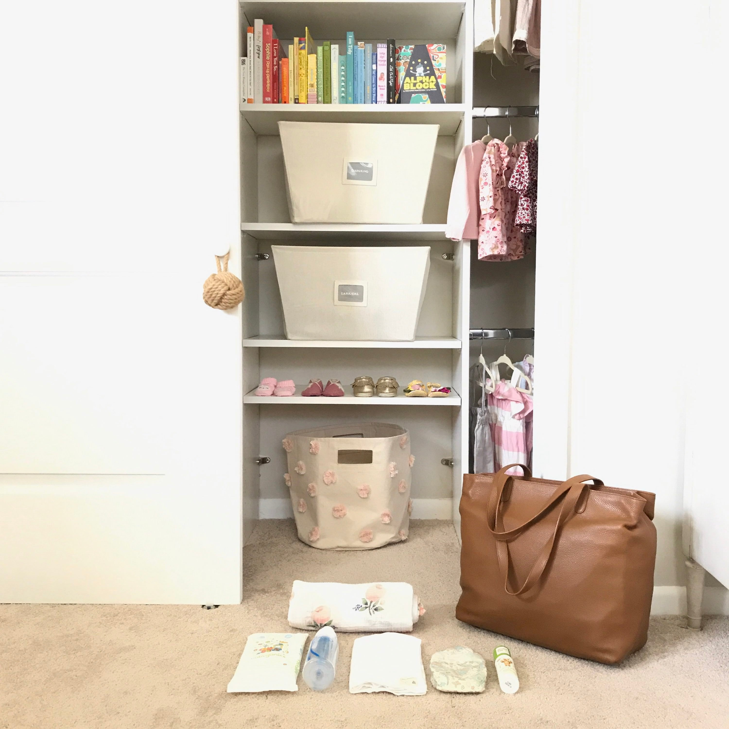 diaper bags, organized diaper bags, leather tote, leather bag, gym bag, cool gym bags, best new bags