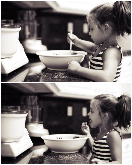 cute girl baking, girl baking, girl cooking, girl baking in kitchen, cute little girl