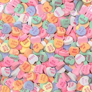candy hearts, hearts, candy, valentines, valentines day, conversation hearts, professional organizers, washington dc, south florida, scottsdale, columbus, detroit, twin cities, san diego, chicago, san francisco