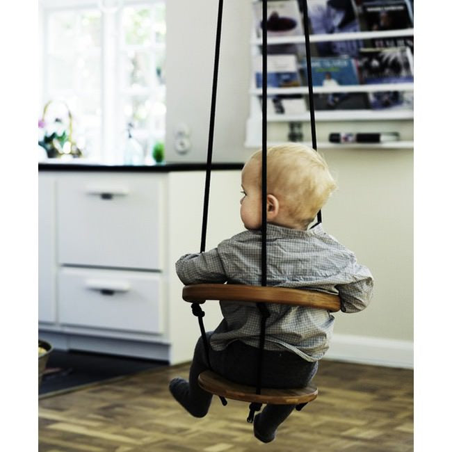 Little Boy, indoor swing, kids toys, kids playroom, swing, baby, modern baby, wooden toys, wooden swing, NEAT Method, professional organizers, home organizer, organizer, home organizing,