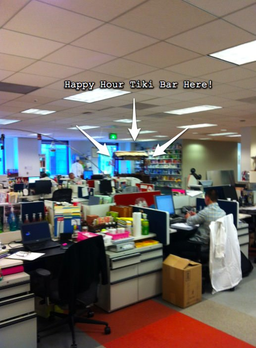 Office building, Cubicles, Method, Method Cleaning Supplies, San Francisco Office, Start up Office
