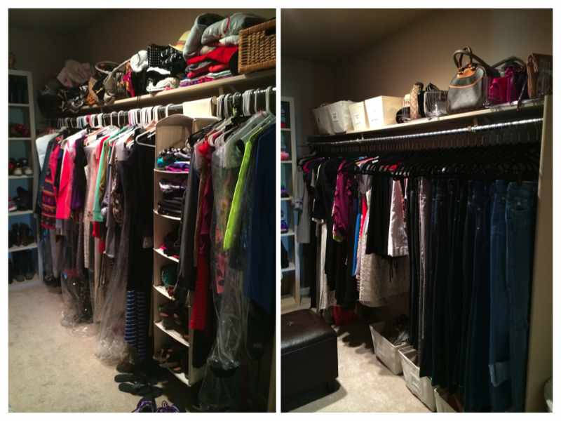mika perry, neat method, neat scottsdale, scottsdale, home organizer, home organizer scottsdale, master closet, before and after master closet, organized closet