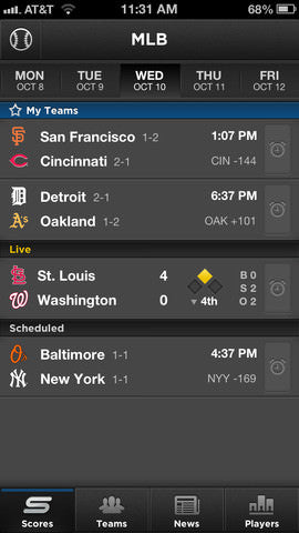 Yahoo Sportacular Pro, Yahoo Sportacular Pro app, baseball app, sports app, mlb app, major league baseball, major league baseball app, apps for guys