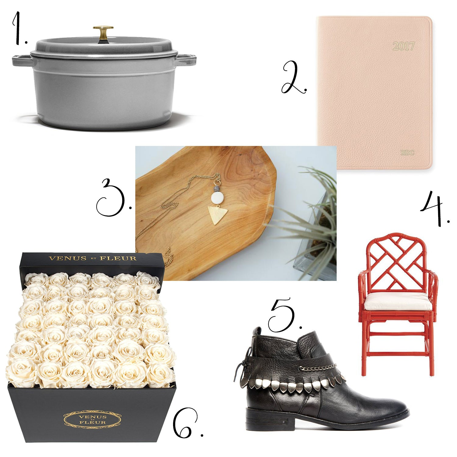 neat method, wish list, best planners, staub, rattan chair, freda salvador, gift ideas, natalie borton, mark and graham