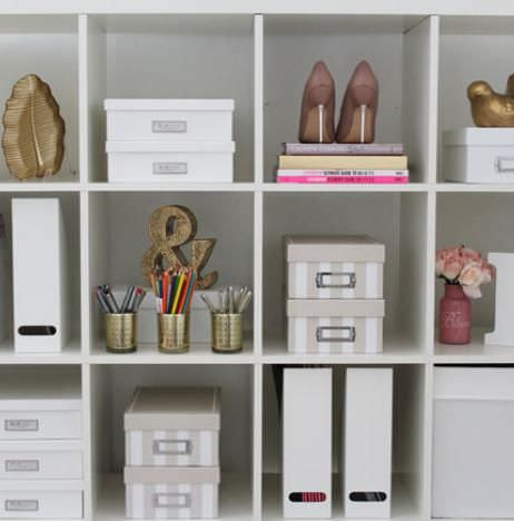 South Florida, San Francisco, San Diego, Washington DC, Twin Cities, Chicago, office organization, ikea shelving, styled office, organize, organizers, professional organizers,