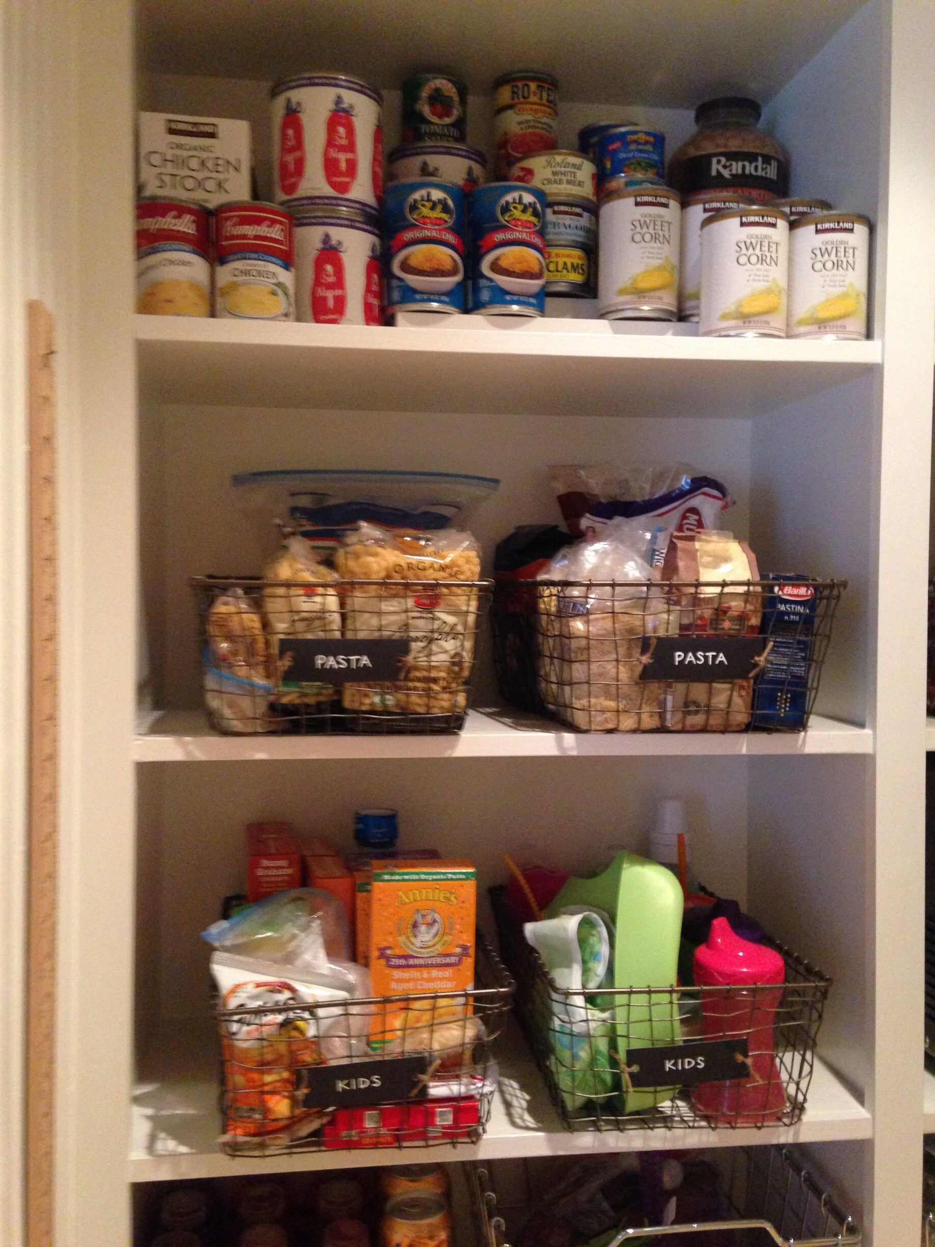 Lauren combs, Michigan, Detroit, home organizer, professional organizer, home organization, NEAT Method, NEAT, kitchen organization, organized pantry, kids lunches, clear canisters, organized food, pantry DIY, kitchen DIY, home design, home style, home decor