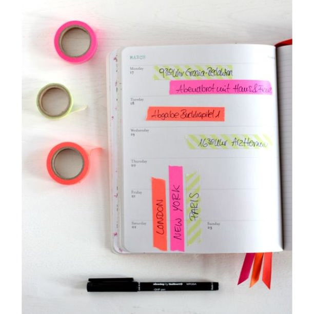 washi tape, pretty washi tape, washi tape diy, organize with washi tape, organize your calendar, tips to organize your planner
