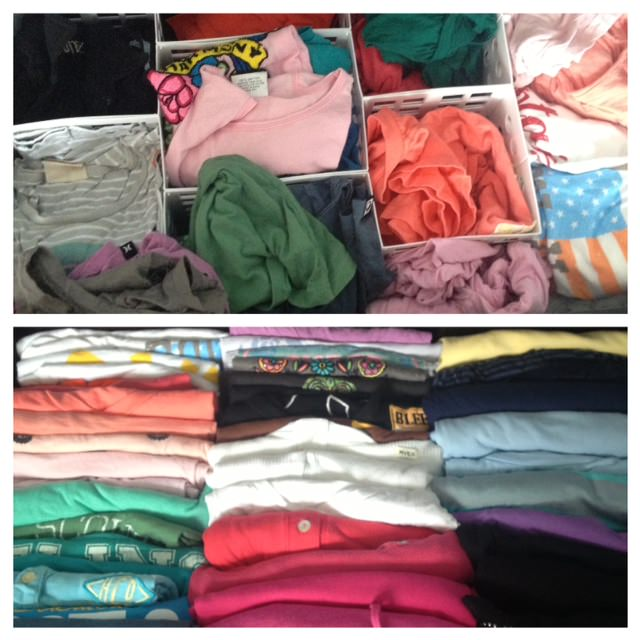 neat, neat method, neat san diego, professional organizer in san diego, san diego, how to fold a tshirt, how to fold