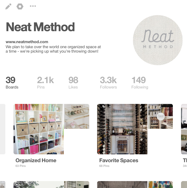 pinterest, organizing, neat method, professional organizing, home organizers