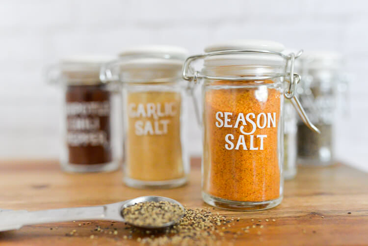 spice jars, organized spices, beautiful spice containers, best spice containers, unique spice jars, organized spices, pantry inspiration, kitchen inspiration, best containers for spices