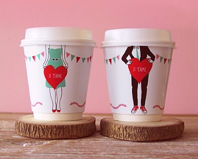 coffee, valentines day decor, coffee cups diy, diy gift, holiday decor
