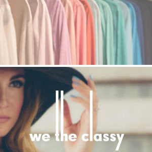 We the classy, vanessa kaufman, fashion blogger, color coding, closet organizing