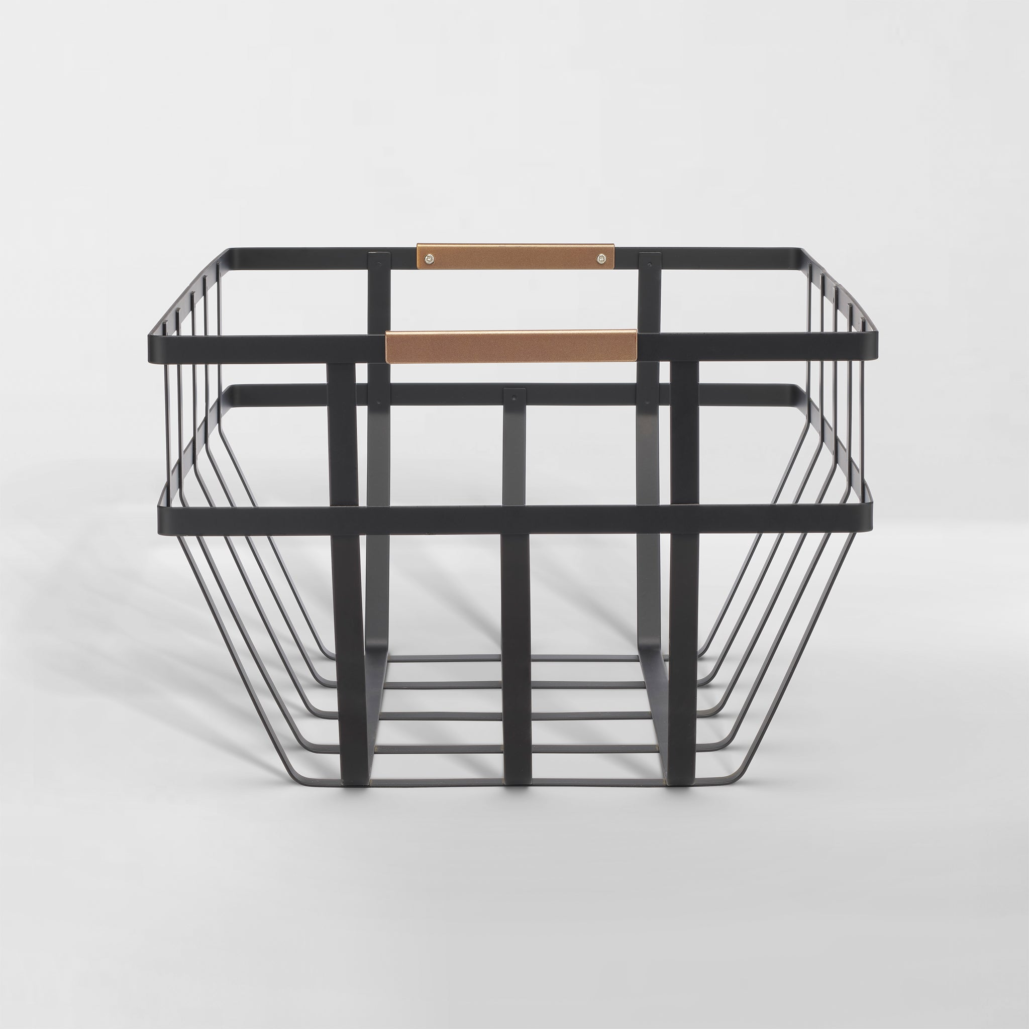 Picture of: Flat Metal Baskets Neat Method