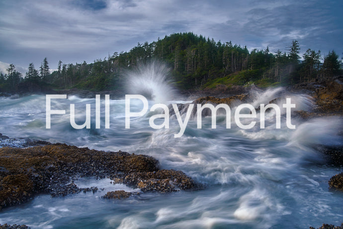 Full Payment - Vancouver Island VisionQuest Photography Workshop