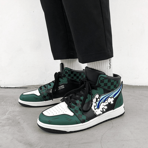 """Tanjirou"" High Top Sneakers"