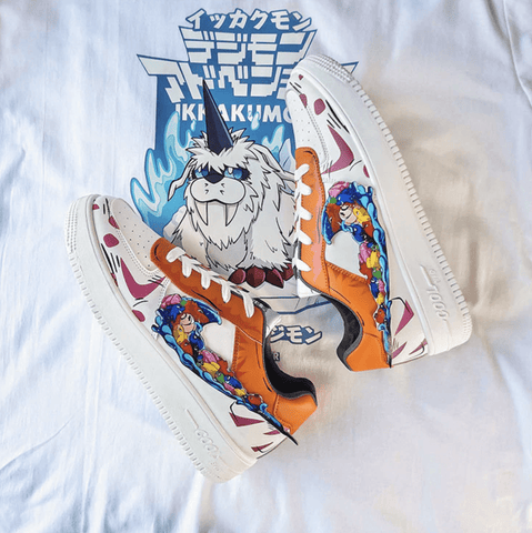 """Ikkakumon"" Low Top Sneakers"
