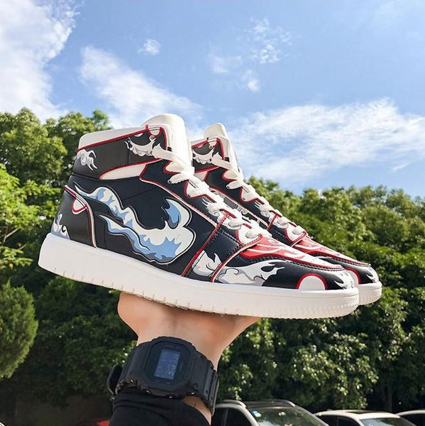 """Luffy Gear 4"" High-Top Sneakers"