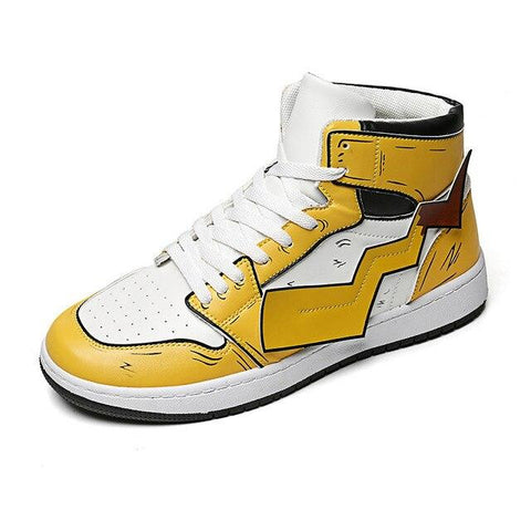 """RAICHU"" HIGH-TOP SNEAKERS"