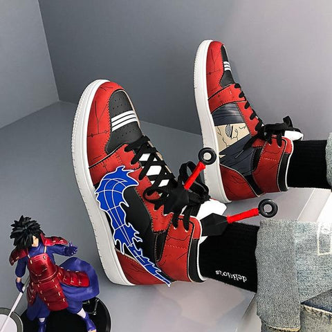 """ITACHI"" HIGH-TOP SNEAKERS"