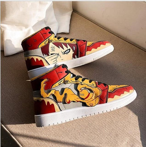 """GAARA"" HIGH-TOP SNEAKERS"