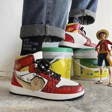 """LUFFY"" HIGH-TOP SNEAKERS"