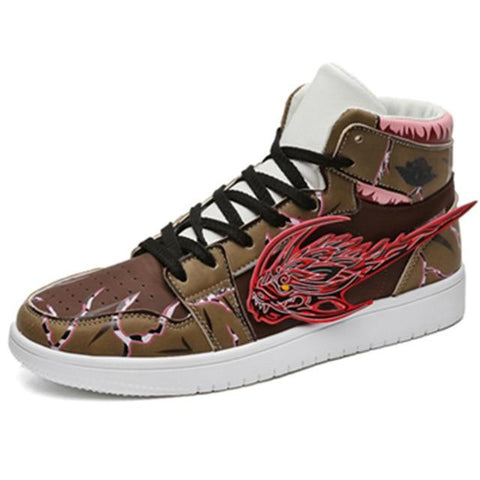 """JIRAYA"" HIGH-TOP SNEAKERS"