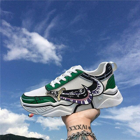 """ZORO"" LOW-TOP SNEAKERS"