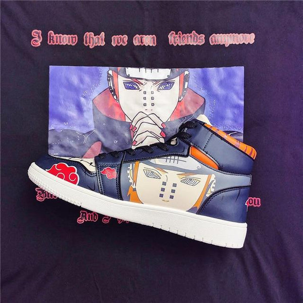 """PAIN"" HIGH-TOP SNEAKERS"