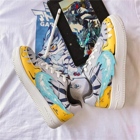 """GARURUMON"" LOW-TOP SNEAKERS"