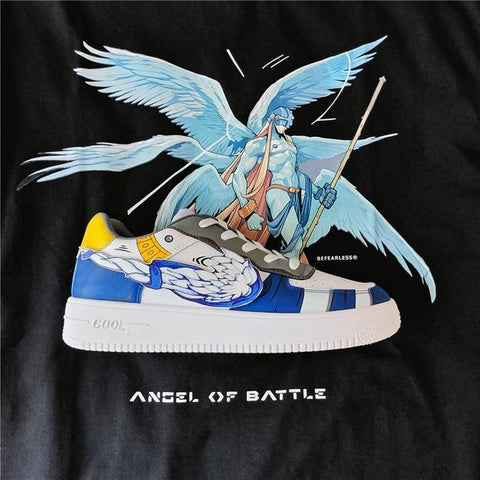 """ANGEMON"" LOW-TOP SNEAKERS"