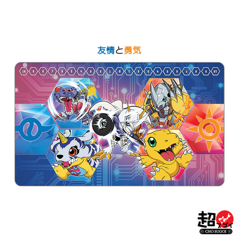 Digimon Card Game Friendship & Courage Playmat [Free Shipping]