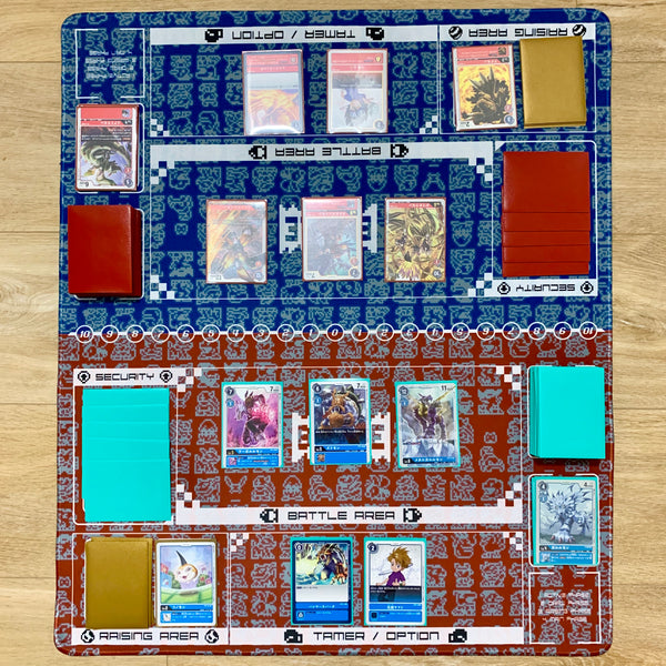 Digimon Card Game Retro Series Twin Playmat [Free Shipping]