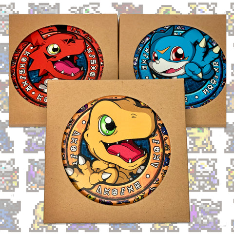 Digimon Series Ceramic Coaster 「デジモンコースター」