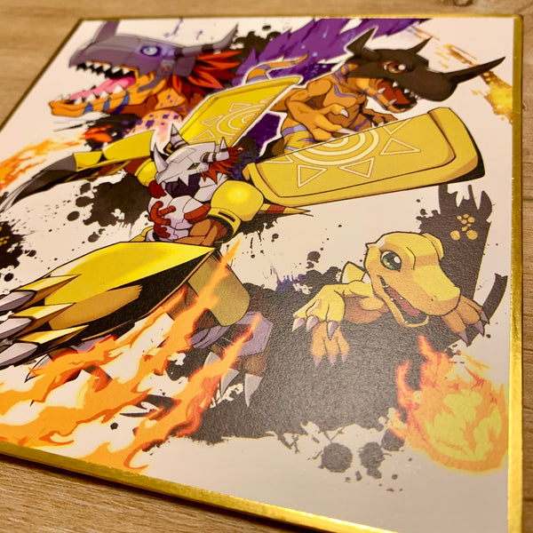 Digimon Shikishi Illustration Set デジモン色纸