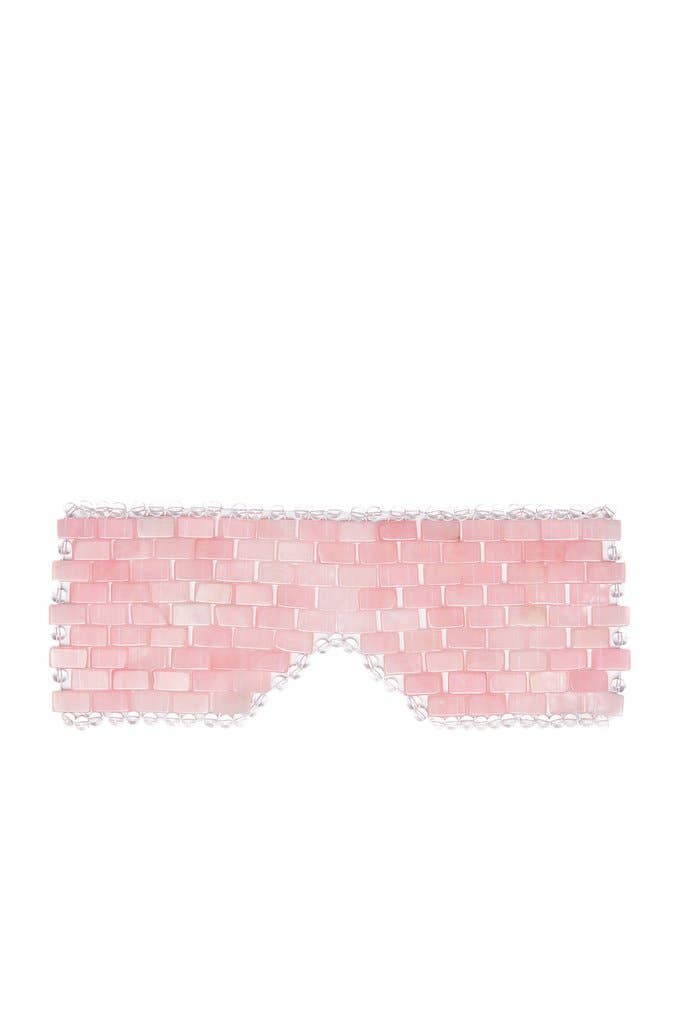 ZAQ Rose Quartz Eye Mask