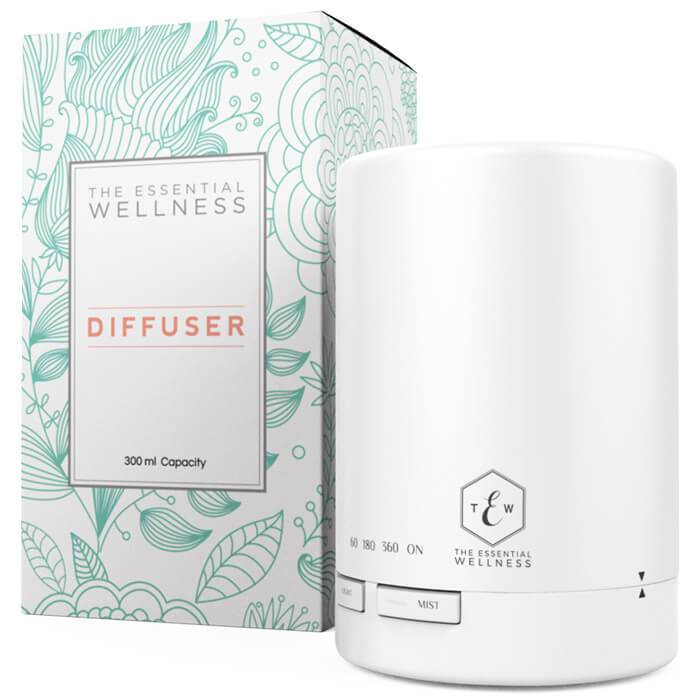 The Essential Wellness Essential Oil Diffuser-White