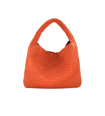 Basket Hobo Bag