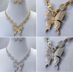 Butterfly Bling Chain