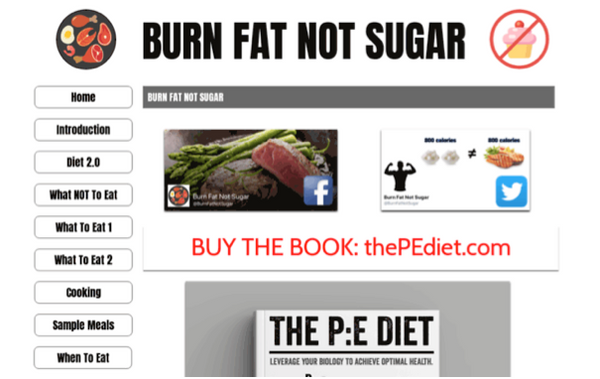 Burn Fat Not Sugar