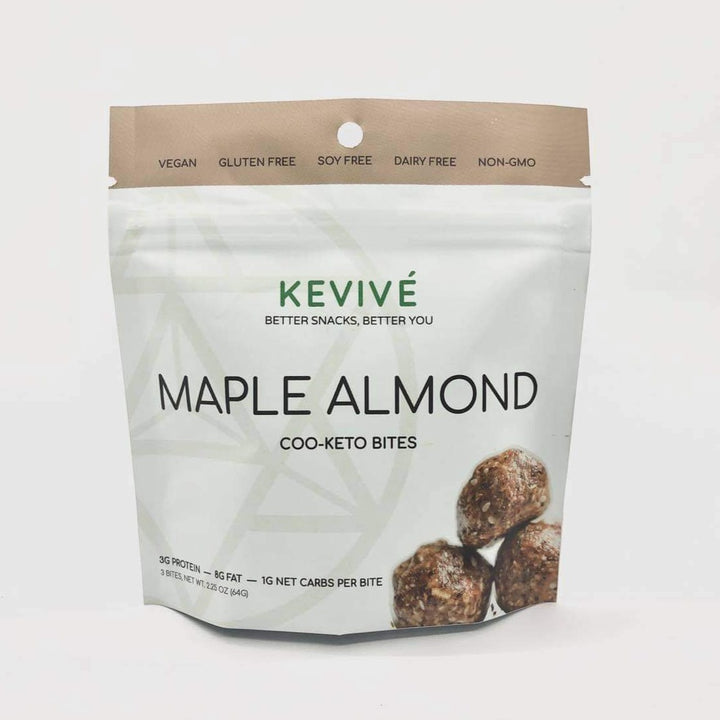 Maple Almond Coo-Keto Bites