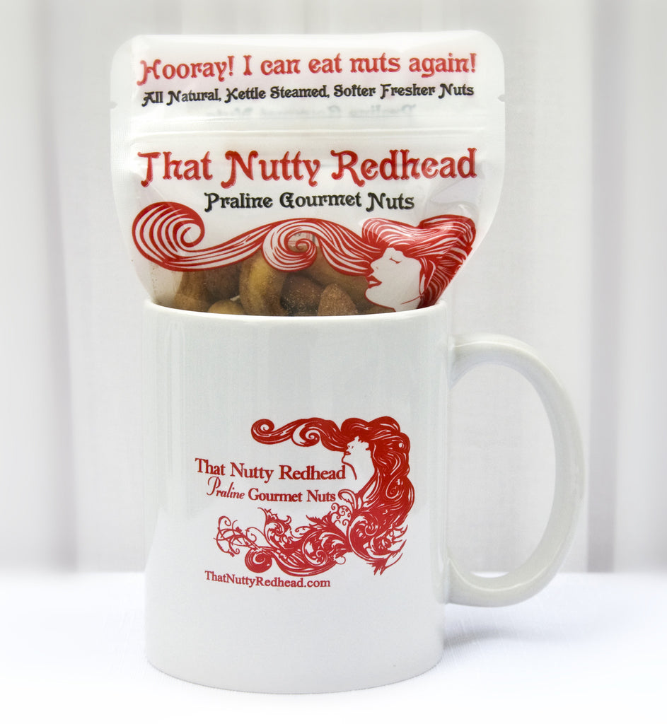 TNR Mug w/New England Praline w/Sea Salt Nuts