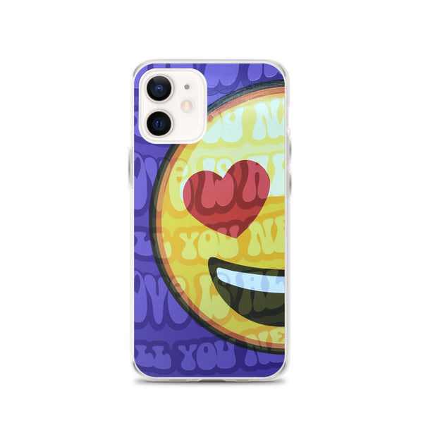 "iPhone ""ALUV"" All You Need is Love Phone Case"