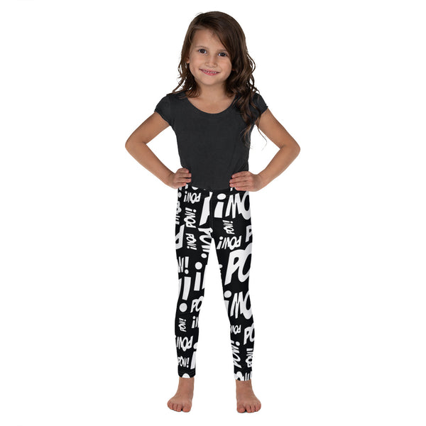 """LOTS-O-POW!"" Yoga Leggings - Youth"