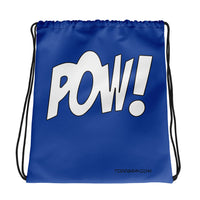 "Drawstring Backpack ""POW!"""