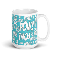 "Ceramic Mug ""LOTS-O-POW!"""