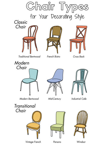 elastic chair cover - chair types supported